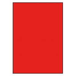 210 x 296 mm 100 Blatt ROT