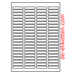 46 x 11 mm 100 Blatt p. Karton