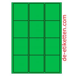 63 x 72 mm 100 Blatt p. Karton GRÜN