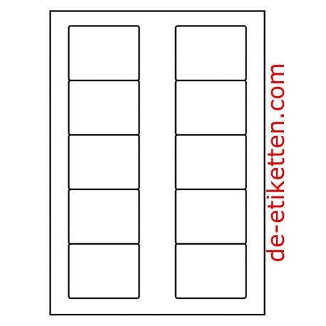 70 x 53 mm 100 Blatt p. Karton Deckfarben