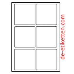 90 x 90 mm 200 Blatt p. Karton