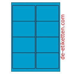 99 x 68 mm 100 Blatt p. Karton BLAU