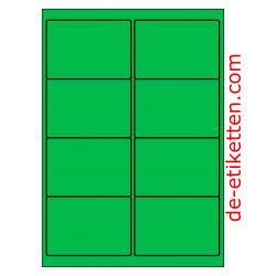 99 x 68 mm 100 Blatt p. Karton GRÜN