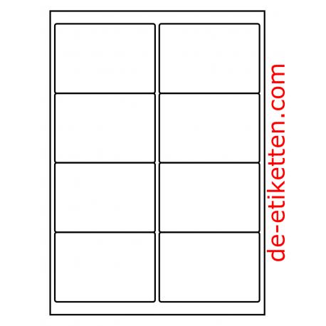 99 x 68 mm 100 Blatt p. Karton
