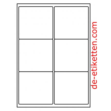 99 x 93 mm 200 Blatt p. Karton