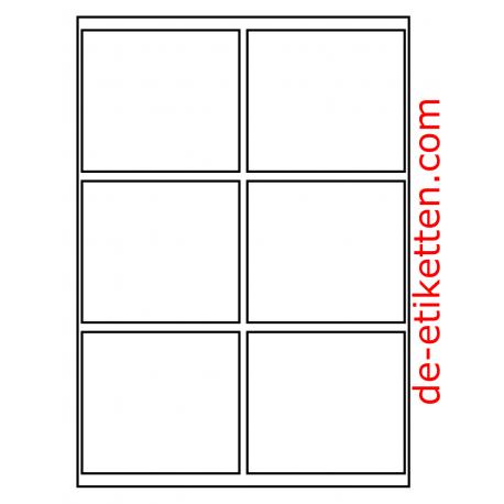 100 x 90 mm 100 Blatt p. Karton spez. für Verlaufdruck