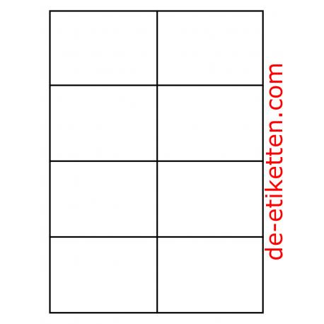 105 x 74 mm 8 pro Blatt 1.000 Blatt p. Karton