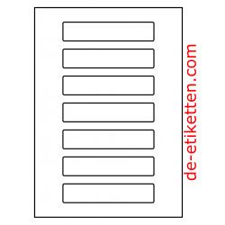 130 x 28 mm 100 Blatt p. Karton spez. Für Verlaufdruck
