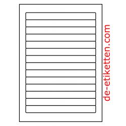 178 x 18 mm 100 Blatt p. Karton