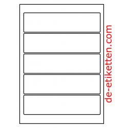190 x 48 mm 100 Blatt p. Karton