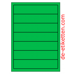 192 x 39 mm 100 Blatt p. Karton GRÜN