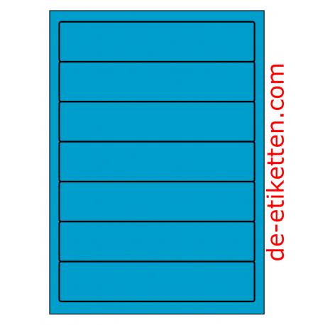 192 x 39 mm 100 Blatt p. Karton BLAU