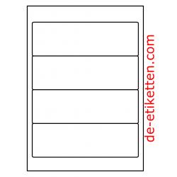192 x 62 mm 100 Blatt p. Karton