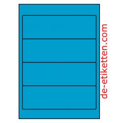 192 x 62 mm 100 Blatt p. Karton BLAU