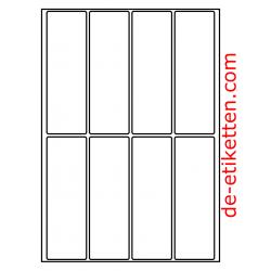 48 x 145 mm 200 Blatt p. Karton