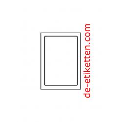 85 x 128 mm 200 Blatt p. Karton AbsenderEtikett op A6