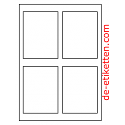 90 x 120 mm 100 Blatt p. Karton