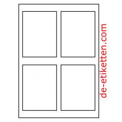 90 x 120 mm 200 Blatt p. Karton