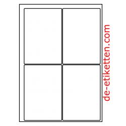 95 x 140 mm 200 Blatt p. Karton (freistehend)  (Velpacode: 1895141)