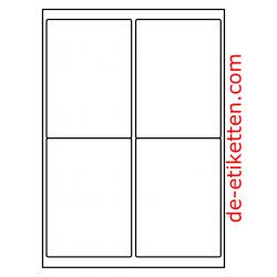 99 x 136 mm 200 Blatt p. Karton