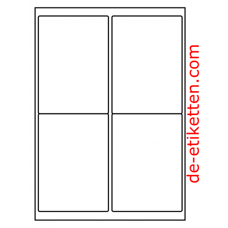 99 x 136 mm 100 Blatt p. Karton Glossy