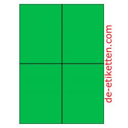 105 x 148 mm 100 Blatt p. Karton GRÜN