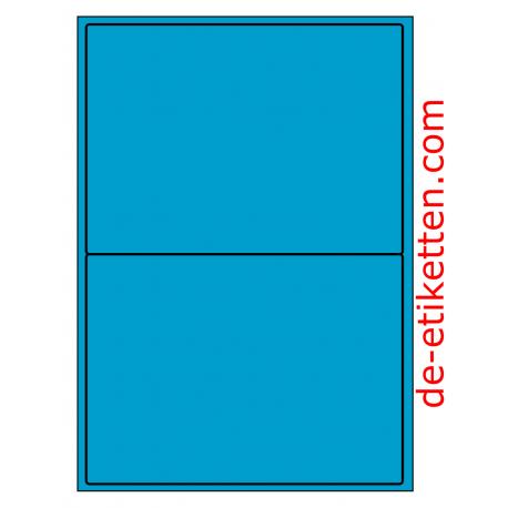 199 x 143 mm 100 Blatt p. Karton BLAU