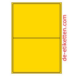 199 x 143 mm 100 Blatt p. Karton GELB