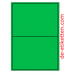 199 x 143 mm 100 Blatt p. Karton GRÜN