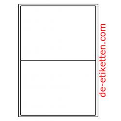 199 x 143mm 2 pro Blatt 1.000 Blatt p. Karton