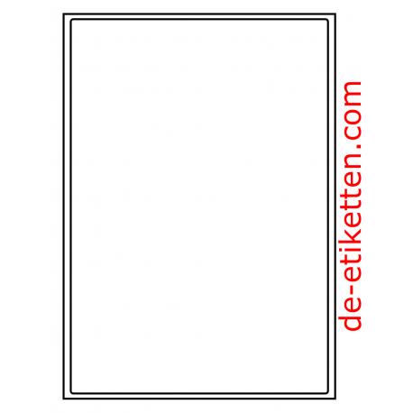 199 x 289 mm 1 pro Blatt 1.000 Blatt p. Karton
