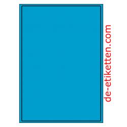 199 x 289 mm 100 Blatt p. Karton BLAU