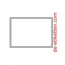 A5 Etikett 200 x 138 mm 100 Blatt p. Karton, umlaufende Sicherheitskante