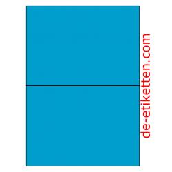 210 x 148 mm 100 Blatt p. Karton BLAU