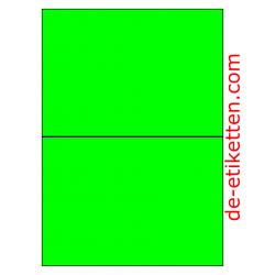210 x 148 mm 100 Blatt p. Karton GRÜN FLUOR
