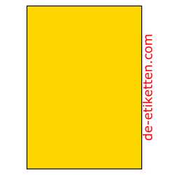 210 x 296 mm 100 Blatt p. karton GELB