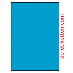 210 x 296 mm 100 Blatt p. Karton BLAU