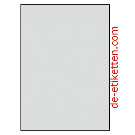 210 x 296 mm 50 Blatt p. Karton ALUMINIUM