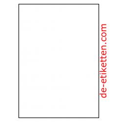 100 Blatt p. Karton Mat Transparent vinyl 210 x 296 mm KEIN SLIT