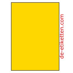 210 x 296 mm 200 Blatt p. Karton PolymasterVinyl GELB