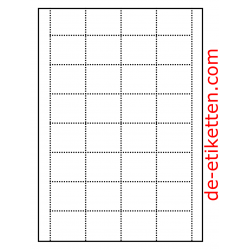 Preiskarten für Regale 45 x 38 mm 100 Blatt p. Karton