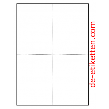 105 x 148 mm Postkarten 100 Blatt p. Karton a 4 Karten