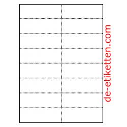 Preiskarten für Regale 105 x 37 mm 100 Blatt p. Karton
