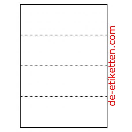 Preiskarten für Regale 210 x 74 mm 100 Blatt p. Karton
