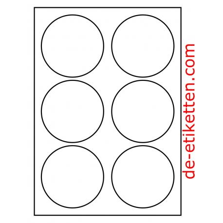 90 Mm Runde 100 Blatt P Karton Bestellnummer R90100 Viele Anwendungen