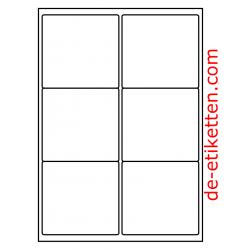 99 x 93 mm 200 Blatt p. Karton Deckfarben