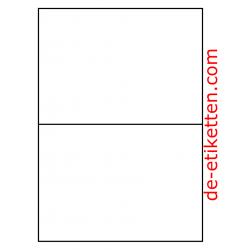 210 x 148 mm 2 pro Blatt 1.000 Blatt p. Karton