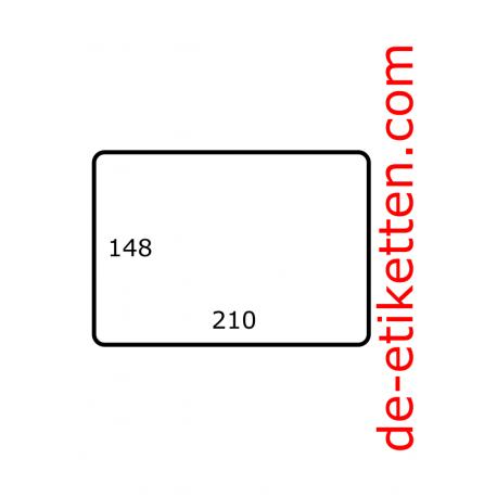 210 x 148 mm 1.000 pro rolle Polyjet Satin