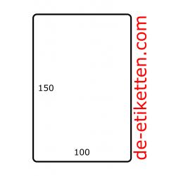 100 mm x 150 mm Papier Glanz 1.000 pro rolle