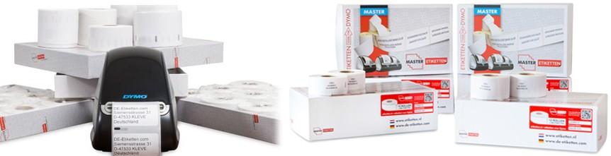 Etiketten für DYMO Drucker
